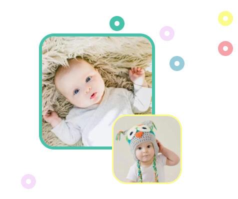 baby宝宝成长记录│可爱卡通幼儿童节│母婴资讯