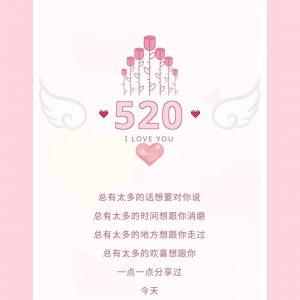 520 情人节,要的就是柔情蜜意