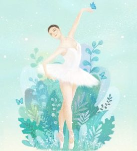 唯美动图│舞蹈芭蕾艺术培训招生